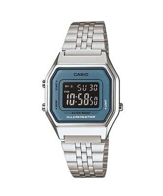 CASIO 經緯度鐘錶 復古數字型電子錶 LED燈 女款 台灣CASIO公司貨【超低價720】LA680WA-2B