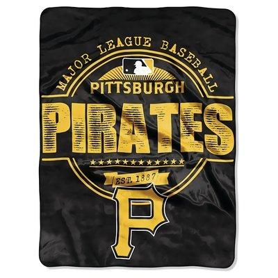 [現貨]美國職棒大聯盟空調毯 MLB匹茲堡海盜Pittsburgh Pirates蓋毯 毛毯車毯午睡宿舍交換生日禮品
