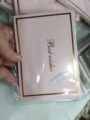 製作乾花卡~~~韓風卡 片