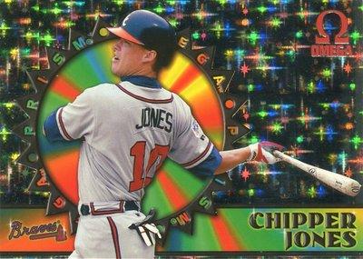 (T)1998 Omega Prism Chipper Jones 閃光卡