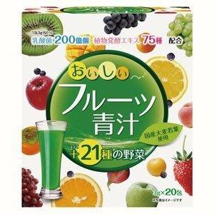 ○日本熱銷○味道好的酵素青汁(3g×20包)○大麥若葉 水果口味 (現貨) 另售40包大包裝739元 新北市