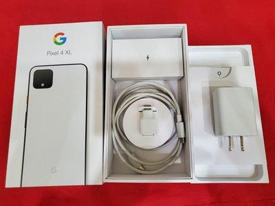 聯翔通訊 白色 Google Pixel 4 XL 64G 台灣原廠過保固2020/10 原廠盒裝※換機優先