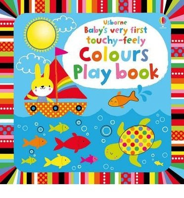 全新現貨 Usborne Baby's Very First Touchy-Feely Colours Play 硬頁觸摸書