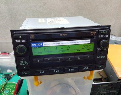 Toyota 原廠 6片 CD Mp3 主機 FM 非usb sd sony jl panasonic