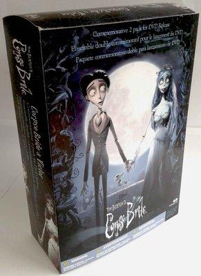 麥法蘭McFarlane ~地獄新娘 Corpse Bride-維特+愛蜜莉 精緻盒裝組~提姆·波頓/聖誕夜驚魂