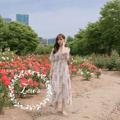 【ZEU'S】夏日甜美V領碎花洋裝『 06219616 』【現+預】FA