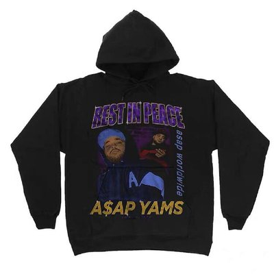 【Result】Rest In Peace A$AP YAMS 經典紀念Hoodie 帽TEE Classic