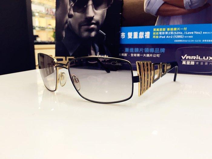 精光堂眼鏡 CAZAL德國手工框 金屬漸層太陽眼鏡 不隨潮流的設計 有不一樣的獨特