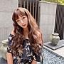 整頂假髮 時尚娃娃假髮 霧茶色 水波紋捲髮 高品質假髮 C8265 髮片達人