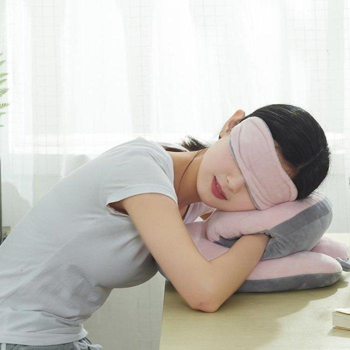 趴趴枕學生教室可插手午休小枕頭多功能抱枕辦公室睡覺神器午睡枕