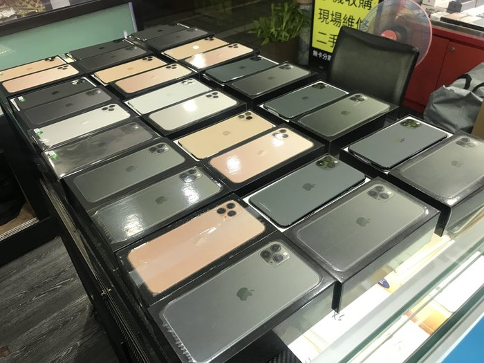 無卡刷卡分期)全新港版 雙卡版 IPHONE 11 i11 PRO MAX 512 512GB 64G 256 256G