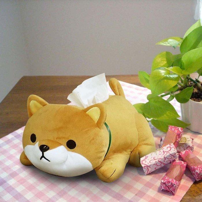 造型面紙套 布套 柴犬 立體造型 療癒系 浴室 廁所 衛生紙套 日版 新家禮物 LUCI日本代購