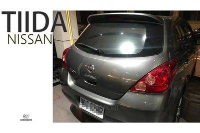 》傑暘國際車身部品《全新 NISSAN TIIDA 06 07 08 09 10 11 12 5D 原廠型 尾翼 含烤漆