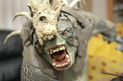 【烏龍1/2】 sideshow 哈比人歷險記 ps3 魔戒 北方之戰 Snow Troll 雪地 食人妖 polystone 雕像