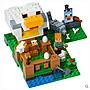 樂高LEGO雞舍21140男孩兒童益智積木MINECRAFT我的世界拼裝玩具