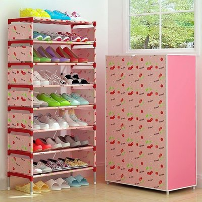 鞋架多層簡易防塵家用組裝經濟型宿舍家里人門口小鞋架多功能鞋櫃MJBL