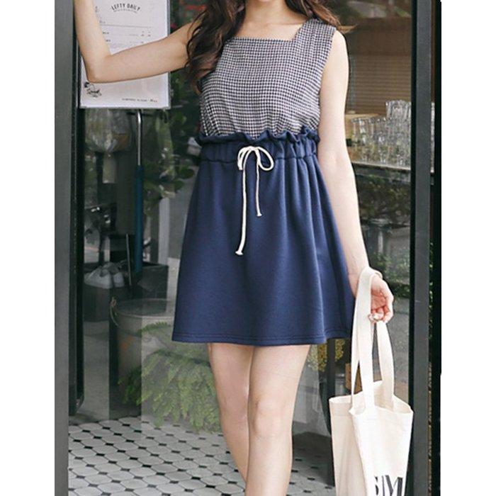 【Hao Da】全館399免運↘「M~XL。現貨」休閒鬆緊 抽繩棉裙 (P1167)