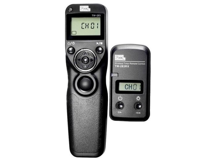 呈現攝影-品色(Pixel) TW-283 E3 無線定時快門線 可換線 縮時攝影Canon700D/G12/G11