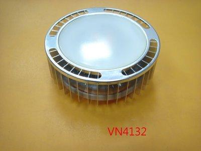 【全冠】8.5W/ 3000K/ 110V/ 6顆燈 黃光 GX53 圓形LED吸頂燈 崁燈 投射燈 筒燈 (VN4132) 台南市