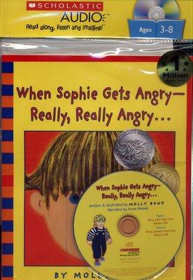 *小貝比的家*WHEN SOPHIE GETS ANGRY REALLY, REALLY ANGRY /書+CD【89】
