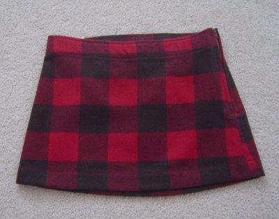 【全新正品】Gap Kids 女童毛料低腰短裙~有內裡~2色~S/XL~現貨在台