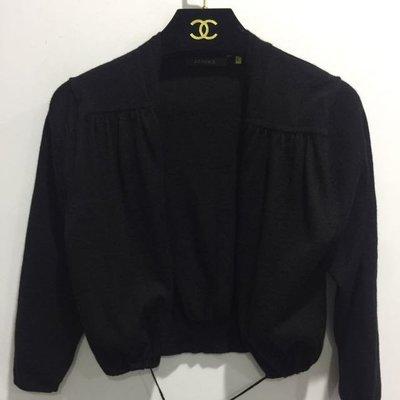 店主精選二手 專櫃設計師品牌質感 J&NINA針織外套