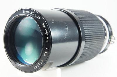 **日光銀鹽** Nikon AI Zoom-Nikkor 80-200mm F4.5 #758