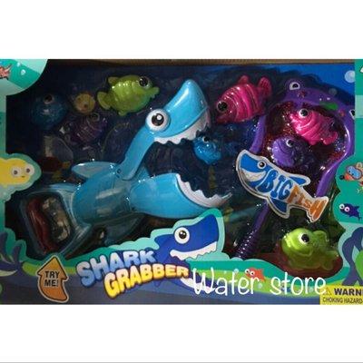 《鈺宅舖》洗澡玩具 鯊魚洗澡玩具 手壓鯊魚抓小魚 捕魚遊戲 撈魚 鯊魚 捕魚 釣魚戲水 戲水玩具 玩水道具 兒童玩具