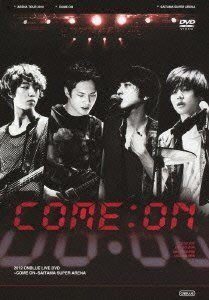 CNBLUE Arena Tour 2012 COME ON!!! @SAITAMA SUPER ARENA 日本演唱會 (日版DVD) 全新