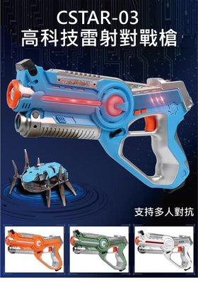 🔆SuperPlayer🔆高科技雷射對戰槍CSTAR-03 Laser紅外線槍(2槍+2蛛+2眼) 多人組隊 對戰遊戲