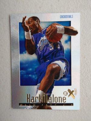 1996-97 E-X2000 Credentials #74 Karl Malone 限量499張