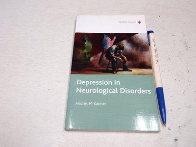 【考試院二手書】《Depression in Neurological Disorders》八成新(B11D67)