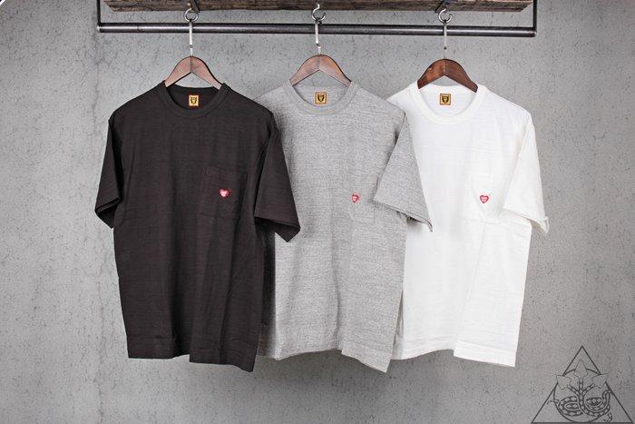【HYDRA】Human Made #1803 Pocket T-Shirt 口袋 愛心 短T【HM18TE003】