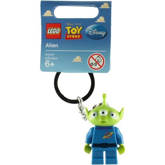 絕版品【LEGO 樂高】全新正品 積木 鑰匙圈 人偶 吊飾 玩具總動員 Toy Story   三眼怪 Alien