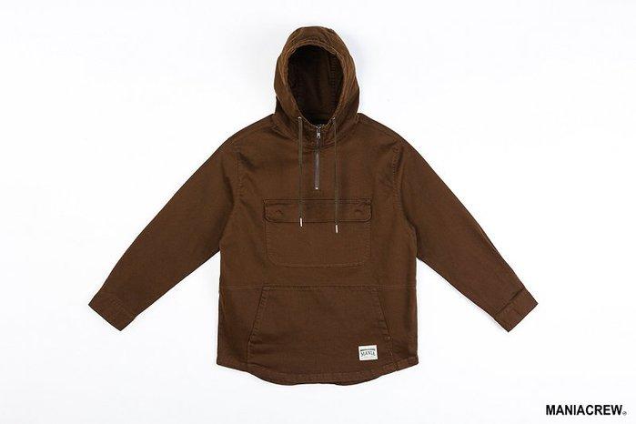 [NMR] MANIA 衝鋒衣 連帽長袖 18 A/W Neck Zip Pullover