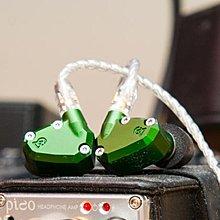 全新 Campfire Andromeda 美國造 綠色 五動鐵單元 耳機 可以換線 MMCX 插頭