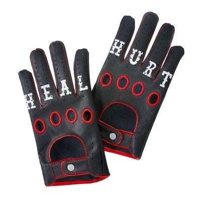 [美國瘋潮]正版 WWE Bray Wyatt Heal & Hurt Gloves 詭異家族惡魔化造型仿皮質手套預購