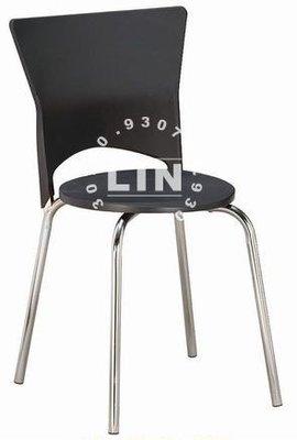 【品特優家具倉儲】060-1餐椅洽談椅巧思椅電鍍腳