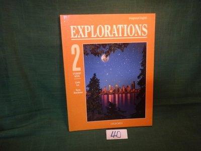 【愛悅二手書坊 03-02】EXPLORATION 2 STUDENT BOOK
