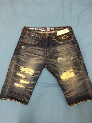Reputation 破壞 短褲 一代 藍色、黑色