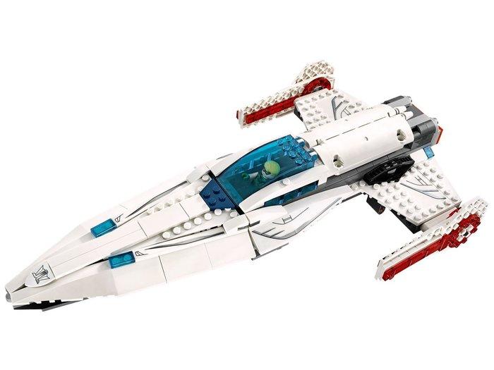現貨【LEGO 樂高】全新正品 益智玩具 積木/ 超級英雄系列 76028 | 單一載具: 白色噴射機 (不含人偶)
