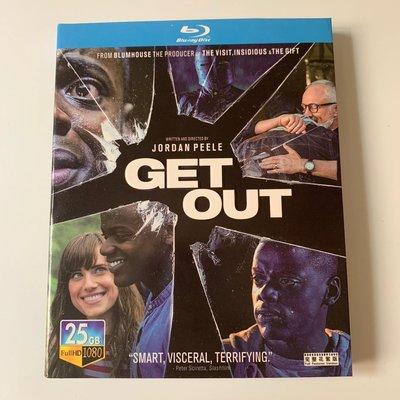 藍光光碟/BD 劇情傳記電影逃出絕命鎮高清1080P收藏版 繁體中字 全新盒裝