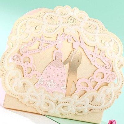 ❤ 1克拉❤ 婚禮小物 歐式粉色王子公主造型高質感喜糖盒  禮品包裝盒【150個起】婚禮糖果盒婚慶用品手工皂化妝品包裝盒
