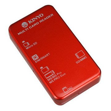 [百威電子] KINYO 多合一晶片讀卡機 KCR-353 ATM 金融卡讀卡 記憶卡 SIM 健保卡讀卡 工商憑證