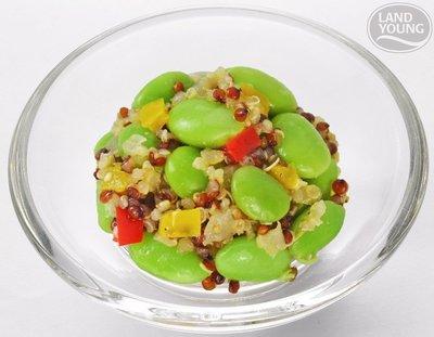 【素食系列】藜麥毛豆(五辛素) / 約200g / 包 ~解凍即可食用~拼盤小菜皆宜~