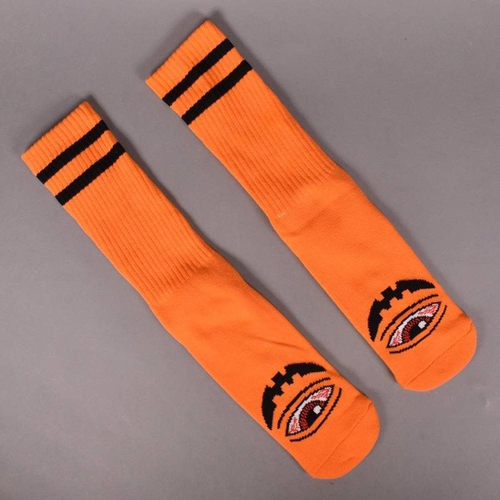 Toy Machine Skateboards - Sect-O-Lantern Socks 橘色 中筒襪 現貨販售