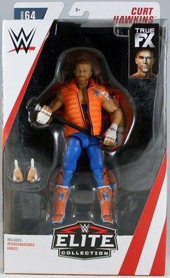 [美國瘋潮]正版 WWE Curt Hawkins Elite #64 Figure RYDER好兄弟精華版公仔人偶