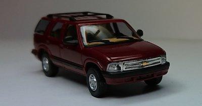 傑仲 博蘭 公司貨 BUSCH Chevrolet Blazer Rot(紅)-red 46400 HO