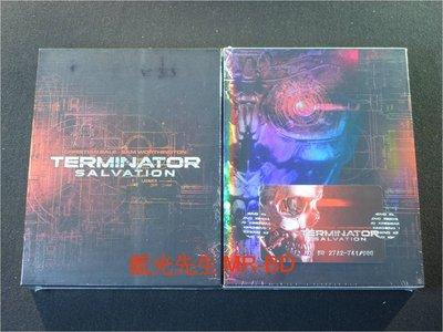 [藍光BD] -魔鬼終結者4 : 未來救贖 Terminator Salvation BD-50G 限量B款鐵盒紙盒加長版