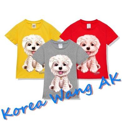 Korea Wang AK ~(預購)台灣原創獨家設計 美國純棉 限定版手繪好Q瑪爾濟斯兒童青少年版T 六款【P149】